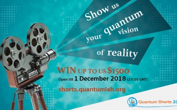 Quantum Shorts 2018: Call for entries