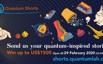 Quantum Shorts is back for 2019. International short fiction competition inspired by quantum physics
